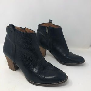 Madewell The Billie Boot Black Ankle Boot